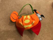 Mickey Mouse pumpkin trick or treat bag new glow in the dark