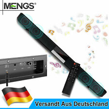Bluetooth Soundbar Lautsprecher TV Film Heimkino Speaker Fernbedienung Subwoofer