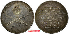 AUSTRIA Silver Jeton Medal 1792 Francis II as Coronation for the Roman Emperor