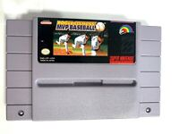 Roger Clemens MVP Baseball SUPER NINTENDO SNES GAME Tested + Working & Authentic