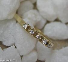 Diamantring Goldring Ring mit Diamant Diamanten in 333 Gold Brillanten