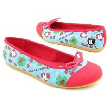 6 1/2 Erocawa Harajuku Lovers Women's love bug shoes flats ballerina 6.5 Ladybug