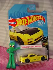 '95 MAZDA RX-7 #16 fifty✰yellow;gray 10sp ✰ NIGHTBURNERZ✰2018 Hot Wheels CASE B