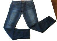 Joes Jeans Womens Size W29 Icon Skinny Ankle Mid Rise Stretch Dark Wash Denim