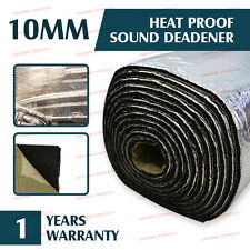 86Sqft Universal Car Sound Dampening Heat Insulation Deadener Roll Foil Aluminum