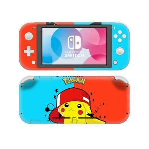 Nintendo Switch Lite Skins Decal Pokemon - Pikachu - Brand New!