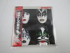 KISS DYNASTY CASABLANCA VIP-6678 with OBI Japan VINYL LP