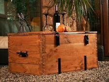 Holzkiste Holztruhe Couchtisch Kaffeetisch, shabby chic, Tisch, Truhe, Kiste Nr4