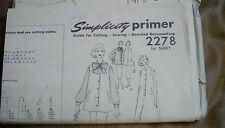 Vintage Simplicity Maternity Pattern 2278