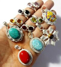 NEW CHRISTMAS FASHION 10 PCS WHOLESALE LOT 925 STERLING SILVER OVERLAY MIX