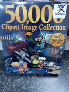 CompuWorks 50,000 Clipart Image Collection Windows 95/3.1 CD-Rom NEW-SEALED
