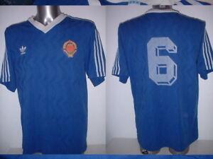 Yugoslavia ADIDAS Adult XL 6 1980s Vintage Football Soccer Shirt Jersey Trikot