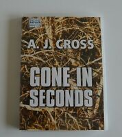 Gone in Seconds - by A. J. Cross - MP3CD  Audiobook