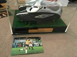 Football Boots Display Case Personalised with or without Artificial Grass