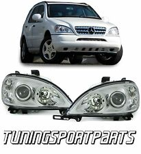 HEADLIGHTS FOR MERCEDES ML W163 98-01 H7 / H7 NEW LAMPS FANALI