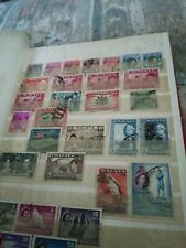 Vintage Stamp Collection nice collection in midi album high Cataloc value