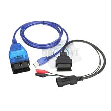 VAG KKL OBD2 USB Cable FT232 Chip + 3 Pin Adapter Cable For GuzziDiag JPDiag