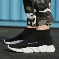 Men's Breathable Ultralight Casual Socks Shoes Sports Sneakers Elastic US 11 12