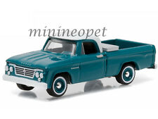 GREENLIGHT 29830 A COUNTRY ROADS 1963 DODGE D-100 PICK UP TRUCK 1/64 TURQUOISE