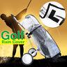 Waterproof Golf Cart Trolley Bag Rain Cover Universal PVC Cape Zip Cover