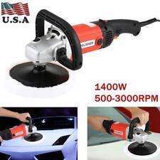 "New 7"" 1400W Electric 6 Variable Speed Car Polisher Machine Buffer Waxer Sander"