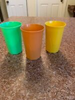 Three Vintage Stanley Home Plastic Cups Cups
