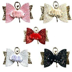 Princess Ballerina Hair Ribbon Hair Barrettes Ballerina Hair Clip Kids