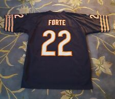 Authentic Chicago Bears 22 Matt Forte L+2 Embroidered Mesh Jersey Reebok Onfield