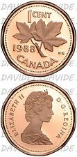 03659] CANADA - 1 CENT 1988 - PROOF _ KM# 132