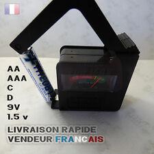 🔋 TESTEUR DE PILES NEUF AA / AAA / C  /D / 9V / 1.5v