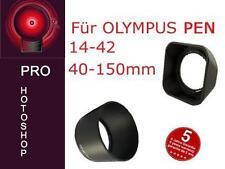 PARASOLE Set per Olympus PEN 14-42mm e 40-150mm