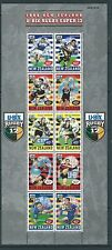 NEW ZEALAND 1999 RUGBY SUPER 12 SHEETLET OF 10 UNMOUNTED MINT, MNH