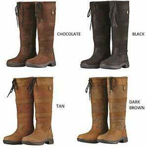 Dublin River Boots Waterproof Standard & Wide Calf Horse Riding Country Boot New