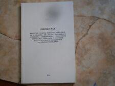 1975 Tanzania Official Visit program Yugoslavia Julius Kambarage Nyerere DOCUMEN