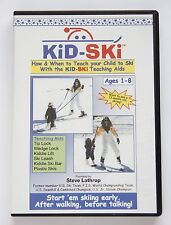 Kid-Ski How to Teach Skiing DVD - NEW! Free Shipping!