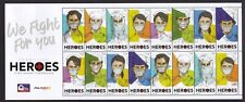 Philippines 2020 Frontline HEROES Large sheetlet of 16 mint NH