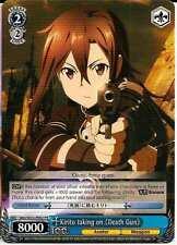 4x Kirito taking on Death Gun Weiss Schwarz Promo