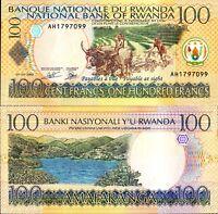 Rwanda/Africa 2003, 100 Francs, Banknote UNC