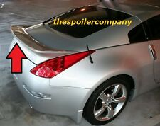 PRE-PAINTED REAR SPOILER FOR 2003-2008 NISSAN 350Z COUPE AGGRESSIVE FLUSH MOUNT
