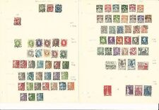 Denmark Collection 1913 to 1994 on 24 Album Pages, High Cat Value