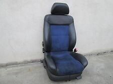 Pelle Sedile Anteriore Sedili sportivi VW Passat 3bg BLU NERO alcatanra riscaldamento sedile