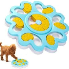 Dog Puzzle Toy Dog Feeding Dispensing Feeder Bowl IQ Training Stuffs#2 lptwT