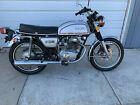 1974 Honda CB  1974 Honda CB200T Motorcycle  Silver  Only 1681 Miles !!