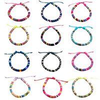 12 VSCO Bracelets for Teen Girls, VISCO Girl Braided Friendship Bracelets for Wo