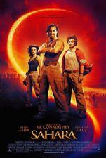 "SAHARA - 13""x20"" Original Promo Movie Poster MINT Matthew McConaughey"