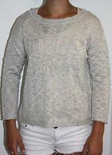 Women's Billabong Cropped Crew Neck Pullover / Jumper - Size 10. NWT, RRP $59.99
