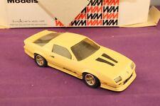 Western Models 1:43 WMS 112 1985 Chevrolet Camaro Iroc Z