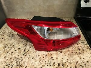 2012 2013 2014 Ford Focus Sedan Tail Light Left (driver side) 022 .