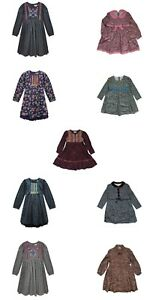 Girls Full Sleeves Cotton Dress | 4 - 8 Years | Free Delivery