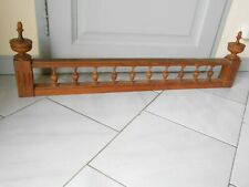"1930s Antique french wood FRONTON PEDIMENT Gallery-  34"" L"